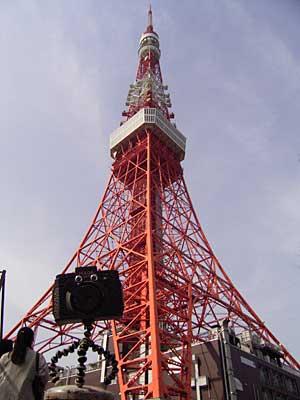 東京タワーとむにょ〜ん1